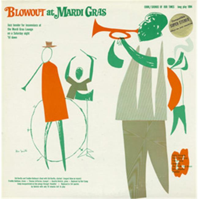 Smithsonian Folkways CK-01084-CCD Blowout at Mardi Gras - image 1 of 1