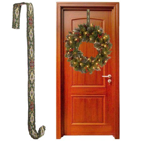Charlotte's Home Accents Over The Door Christmas Wreath Hanger For Outdoor Decorations Holiday Décor