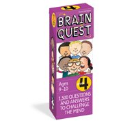 Brain Quest Decks: Brain Quest Grade 4, Revised 4th Edition: 1,500 Questions and Answers to Challenge the Mind (Other)