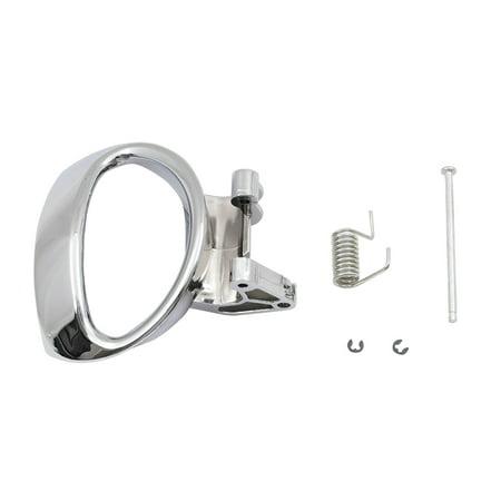 Passengers Inside Inner Interior Door Handle Repair Kit Chrome Lever w/ Spring & Pin Replacement for Chevrolet HHR -