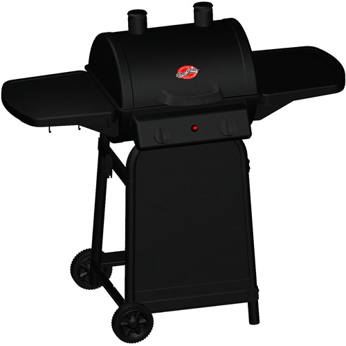 Char-Griller 320 sq. inch  Patio Champ Charcoal Barrel Grill, Black