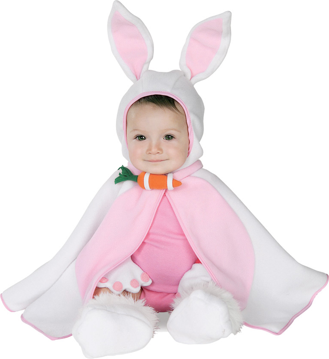 Morris costumes RU11742I Lil Bunny Infant Costume 3-12