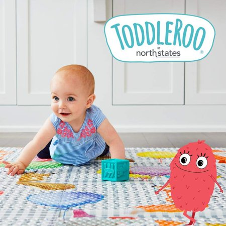 Toddleroo by North States Gray Two-Panel Superyard Extension for Baby Playard