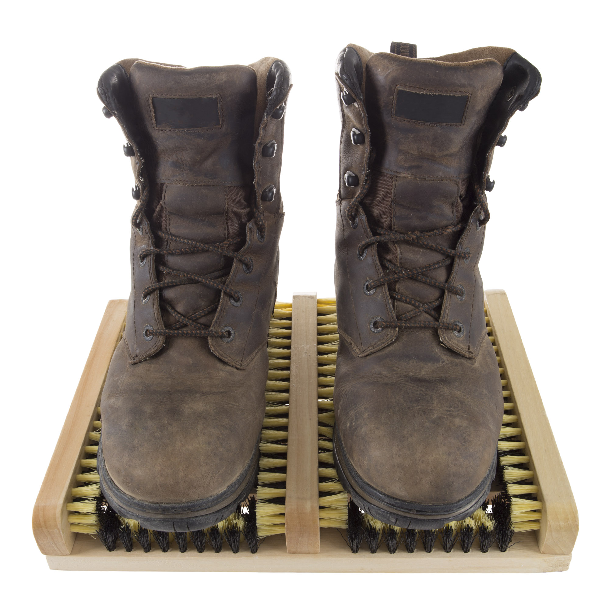 8065d5e4a8 Boot and Shoe Cleaner Scrubber Brush Scraper Mat by Stalwart - Walmart.com