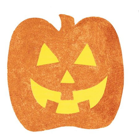 Paper Cutout Glitter Halloween Decorations, Assorted, 6ct - Halloween Cutouts For Preschoolers