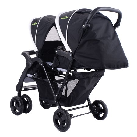 Costway Foldable Twin Baby Double Stroller Kids Jogger ...