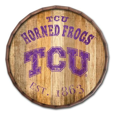 - TCU Horned Frogs 24'' Established Date Barrel Top - No Size