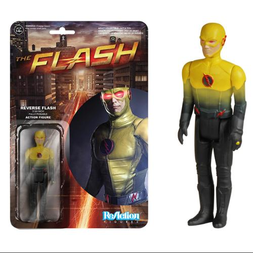 "The Flash TV Series Funko 3 3/4"" ReAction Action Figure: Reverse Flash"