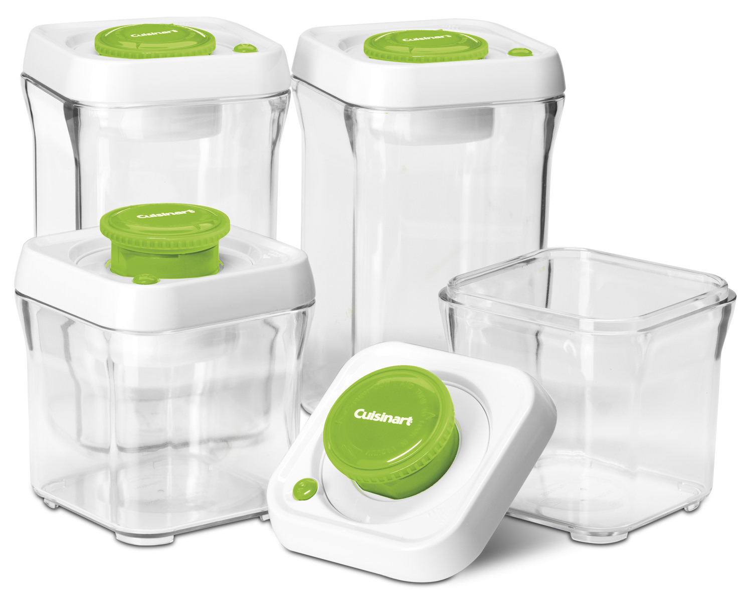Fresh Edge 8-Piece Vacuum Sealed Food Storage Containers  sc 1 st  Walmart & Fresh Edge 8-Piece Vacuum Sealed Food Storage Containers - Walmart.com