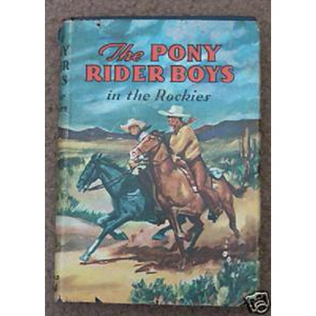 Honda Trail Rider (The Pony Rider Boys in New Mexico or The End of the Silver Trail -)
