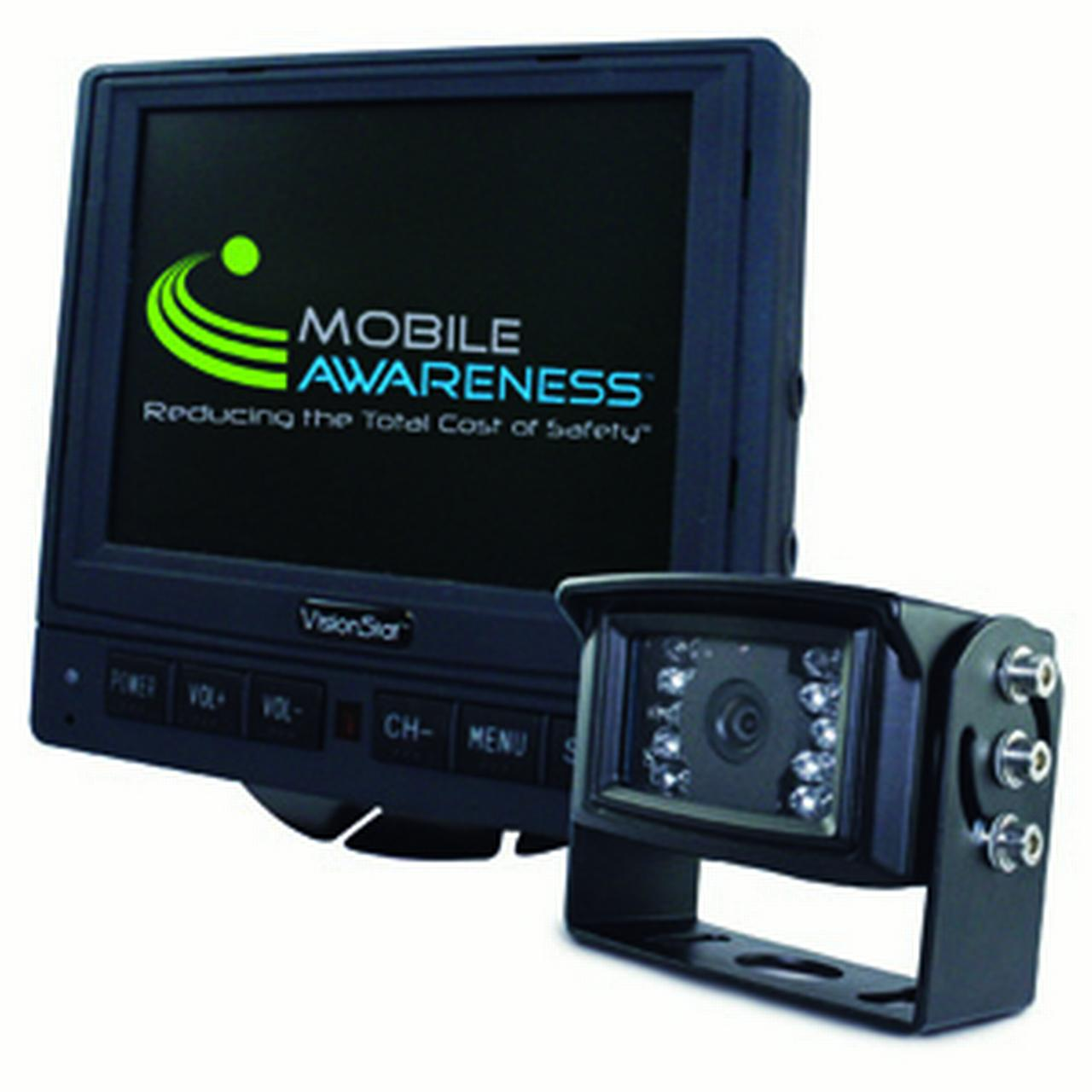 "Mobile Awareness MA-1126 Single Camera 5.6"" VisionStat Ba..."