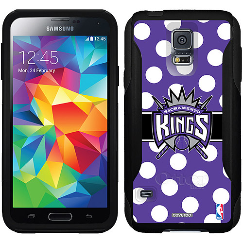 Sacramento Kings Polka Dots 2 Design on OtterBox Commuter Series Case for Samsung Galaxy S5