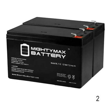 12V 7.2AH SLA Battery Replacement for Garmin Fishfinder 90 - 2