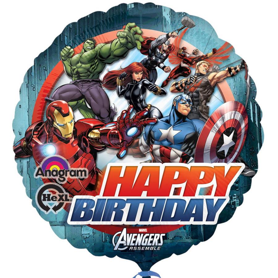 """The Avengers 18"""" Foil Balloon"""