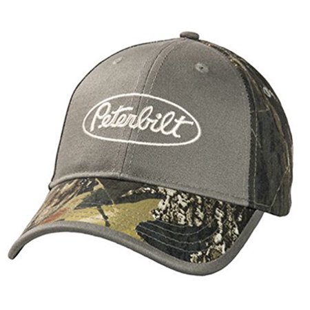 afa74404650 Peterbilt Trucks Mossy Oak Break-Up Camo Hat Cap - Walmart.com