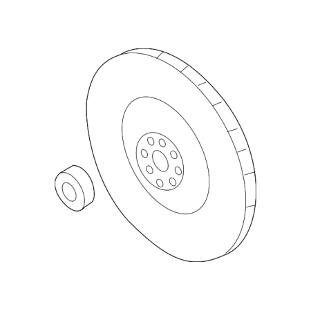 Genuine OE Subaru Flywheel (Subaru Flywheel)
