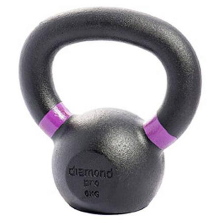 Diamond Pro Kettle Bell, 13 lb 6kg/Purple