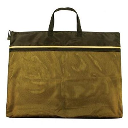 "18"" x 24"" Dual Zippered Pocket Fabric Mesh Bag"