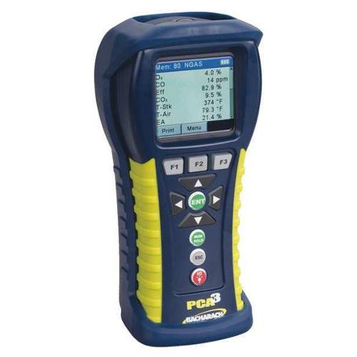 BACHARACH 24-8445 Combustion Analyzer,O2,CO,NO,SO2