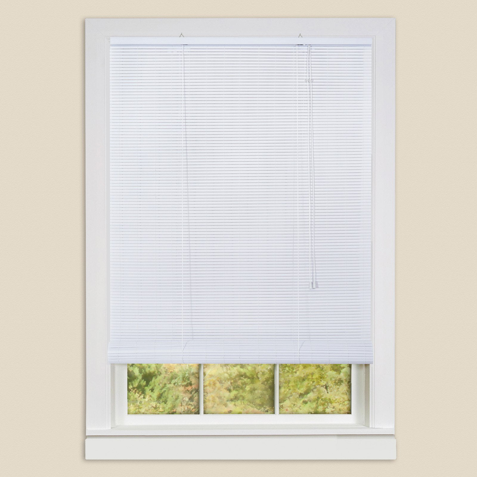 Click here to buy Eclipse Vinyl Roll-Up Blinds by ACHIM.