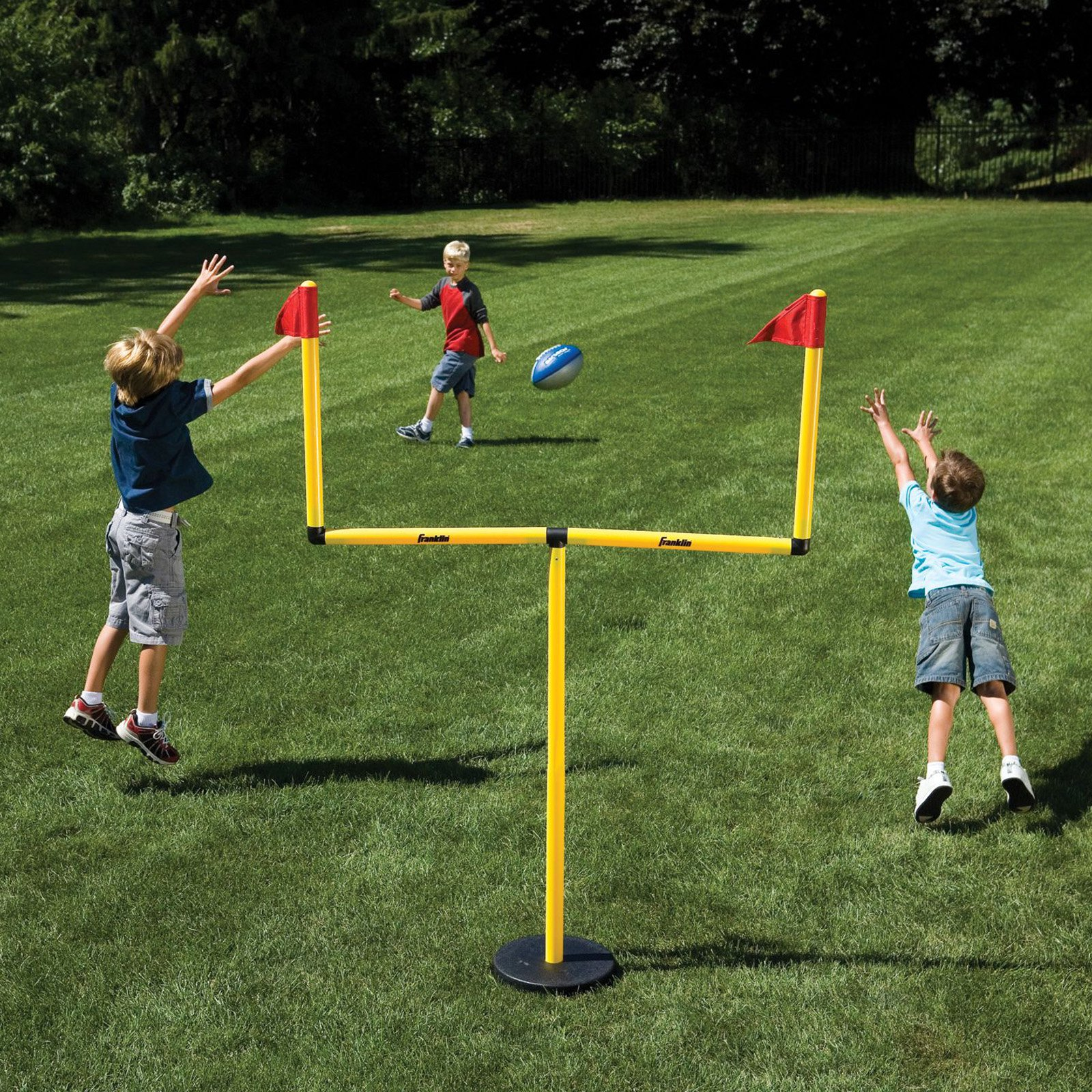 Franklin Go Pro Youth Football Goal Post Set