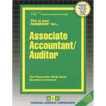 Associate Accountant-Auditor - eBook