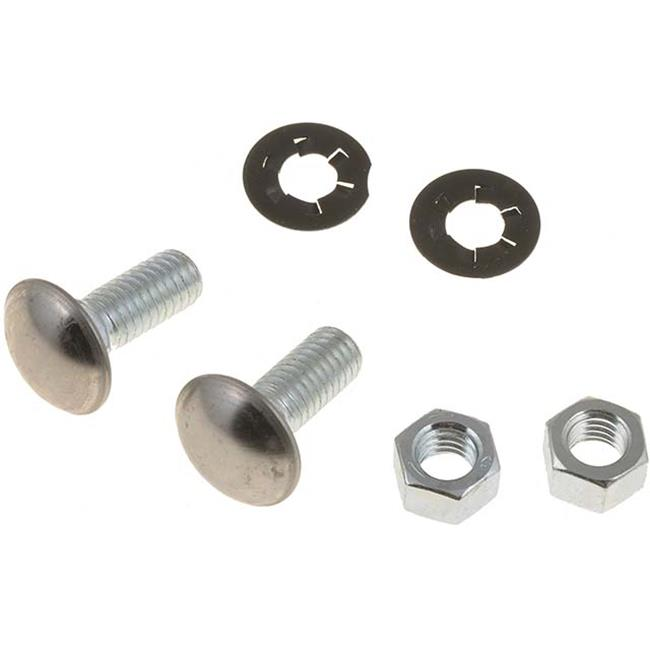 Dorman 45364 0.38-16 x 1 In. Bumper Bolt With Nuts - Stainless Steel
