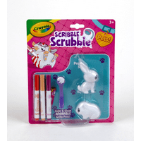 Crayola Scribble Scrubbie Pets Pack Kids Playset Ages 3+