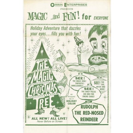 The Magic Christmas Tree - movie POSTER (Style A) (27