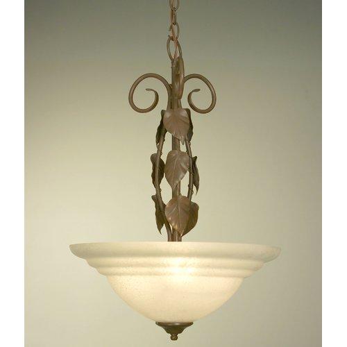 Classic Lighting Vineland 3-Light Bowl Pendant