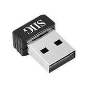 SIIG Network JU-WR0112-S1 Wireless-N Mini USB Wi-Fi Adapter 150Mbps 802.11n/g/b Retail