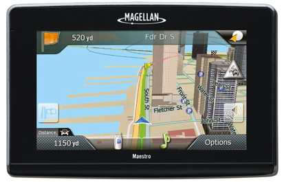 Refurbished Magellan Maestro 4370 (US, Canada & Puerto Rico) Bluetooth Enabled 4.3 Inches GPS Navigator by Magellan