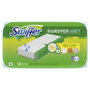 Swiffer Sweeper Wet Pad Refills, Lavender & Vanilla Comfort, 12 Ct