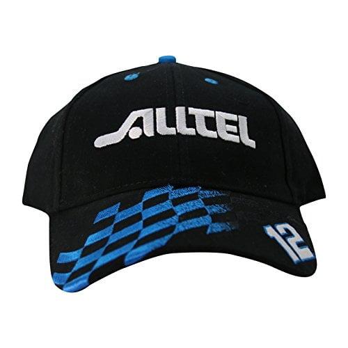 "NASCAR Ryan Newman ""Vintage Series"" Alltel Hat Cap Black"