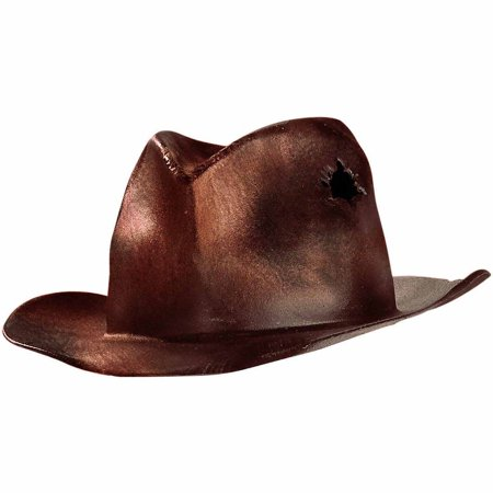 A Nightmare On Elm Street Deluxe Freddy Replica Adult Hat Adult Halloween Accessory](Firefighter Halloween Hat)