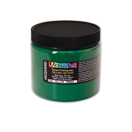 Jacquard Versatex Screen Printing Ink, 16 oz., Yellow Green