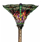 Warehouse of Tiffany Dragonfly Torchiere Lamp