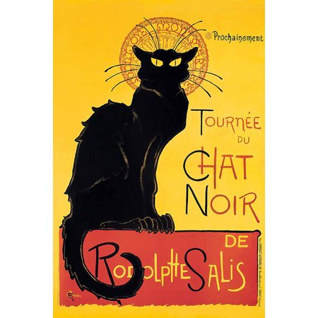Steinlen Chat Noir Vintage Advertising Art Print