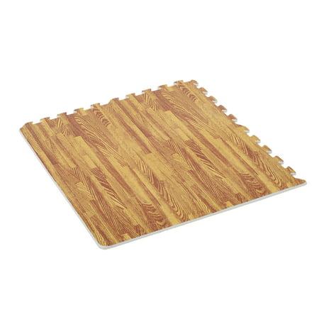 Soozier 72 Sq Ft Interlocking Puzzle Foam Floor Tile Mats