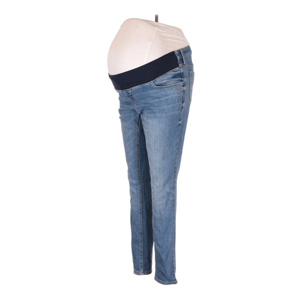 Old Navy Maternity Pre Owned Old Navy Maternity Women S Size 8 Maternity Jeggings Walmart Com Walmart Com