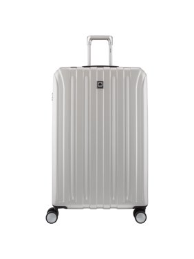 "DELSEY Paris Titanium 29"" Expandable Checked Spinner Rolling Luggage Suitcase"