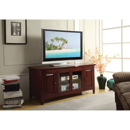 Acme Christella Tv Stand For Flat Screen Tvs Up To 60 Walmart Com