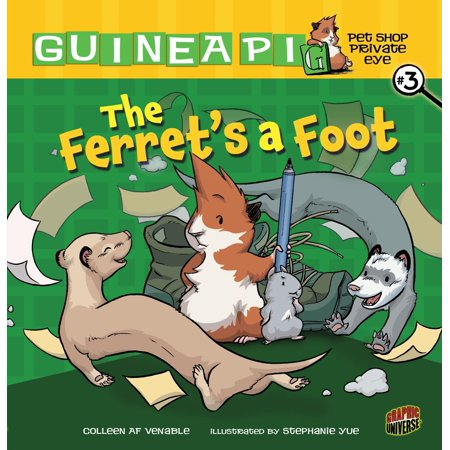 Guinea Pig, Pet Shop Private Eye: The Ferret's a Foot (Things To Put In A Guinea Pig Cage)