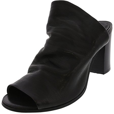 Steve Madden Women's Livvy Leather Black Pump - 10M - image 1 de 3