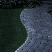 Solar Rope Light - 23 Feet - 50 White LED Lights by Pure Garden