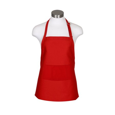 10 Pack Adjustable Full Size Bib Apron with 2 Pockets Cooking Kitchen Aprons for Chef, Servers, Bar Tenders, Waiters, Waitress, Barbers, Gardener, Craftsmen, Decorators, Work Apron