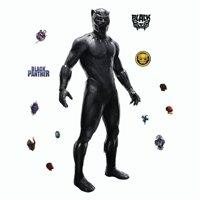"BLACK PANTHER Movie 51"" Giant WALL DECALS Marvel Superhero Mural Stickers Kids Room Decor Wakanda"