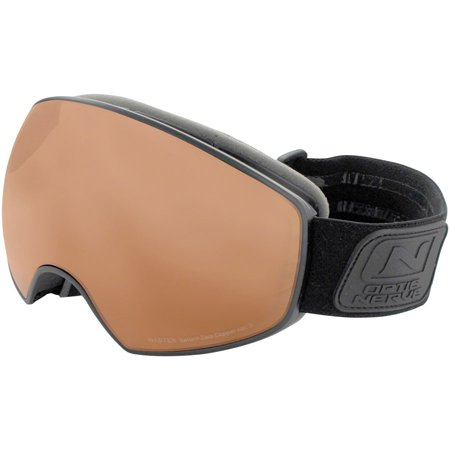 Optic Nerve Goggles - Optic Nerve WFO Snow Goggle: Matte Black with Copper Nastek Lens