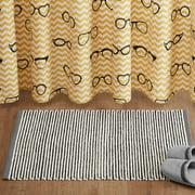 Home Essence Roscoe 100 Percent Cotton Woven Bath Rug