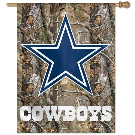 f4e5a6c1 NFL Dallas Cowboys 83193010 Vertical Flag, Small, Black - Walmart.com